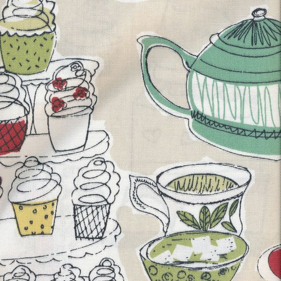 Afternoon Tea Linen Curtains