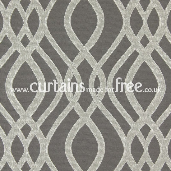 Amina Pewter Curtains