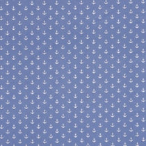 Anchors Blue Roman Blinds