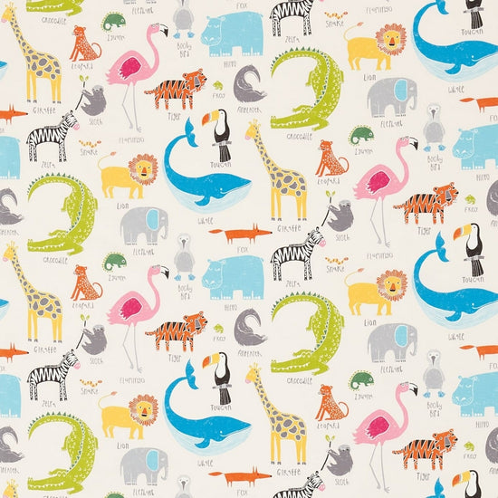 Animal Magic Tutti Frutti Chalk 120467 Curtains