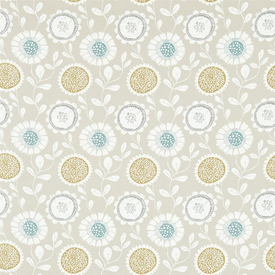 Anneke Honey Chalk Seaglass 120373 Curtains