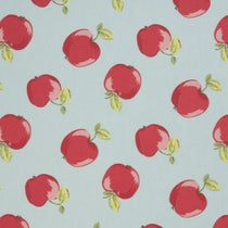Apples Seafoam Roman Blinds