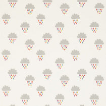 April Showers Poppy Tangerine Sunshine 131659 Roman Blinds