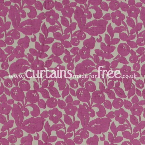 Arabella Berry Curtains