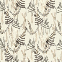 Athyrium Chalk Pewter Biscuit 133530 Fabric by the Metre