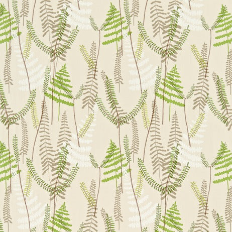 Athyrium Hessian Apple Pebble 130352 Curtains