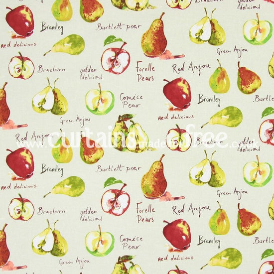 Autumn fruit linen fabric by the metre by prestigious for Childrens curtain fabric by the metre