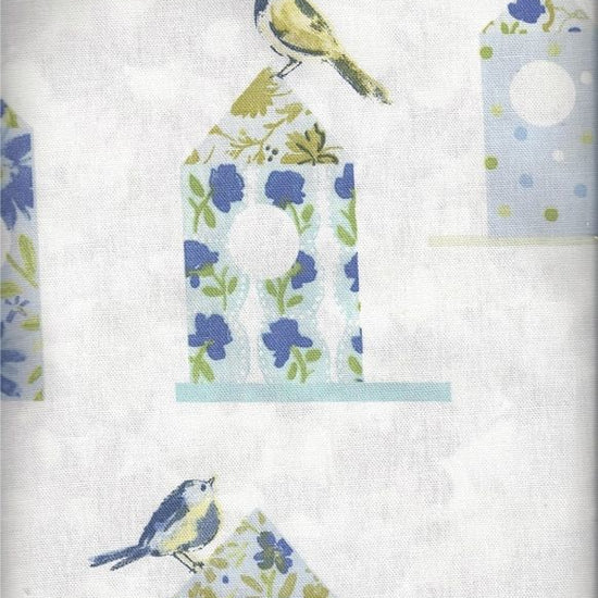 Aviary Cornflower Curtains