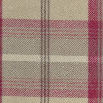 Balmoral Cranberry Curtains