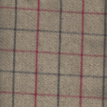 Bamburgh Rosso Fabric by the Metre