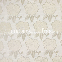 Bardot Ivory Roman Blinds
