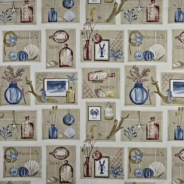 Beachcomber antique fabric by the metre by prestigious for Childrens curtain fabric by the metre