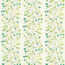 Berry Tree Emerald Lime and Chalk 120051 Curtains