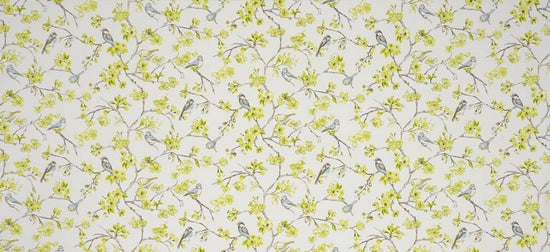 Birdies Citrus Curtains
