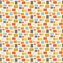 Blocks Chalk Powder Blue Spice and Linden 120076 Curtains