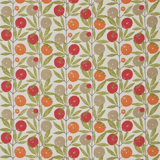Blomma Tangerine Chilli Citrus 120358 Curtains