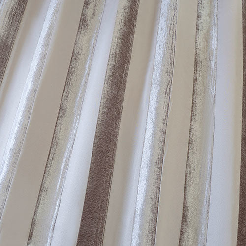 Boheme Stripe Mink Curtains