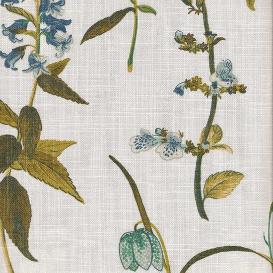 Botanical Teal Curtains