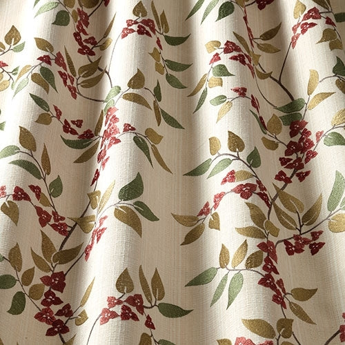 Bougainvillea Paprika Curtains