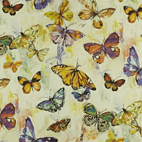 Butterfly Cloud Passion Fruit Curtains