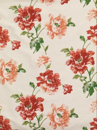 Camellia Berry Curtains