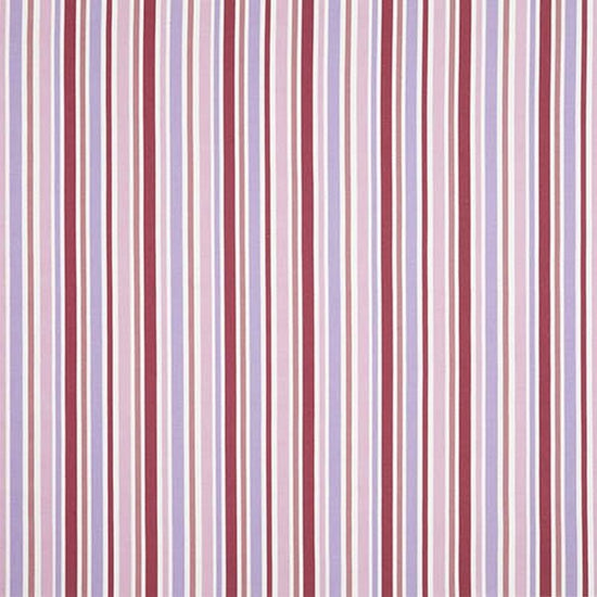 Attractive Candy Stripe Pink Curtains