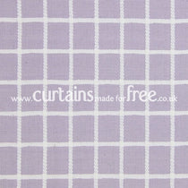 Chain Lavender Roman Blinds