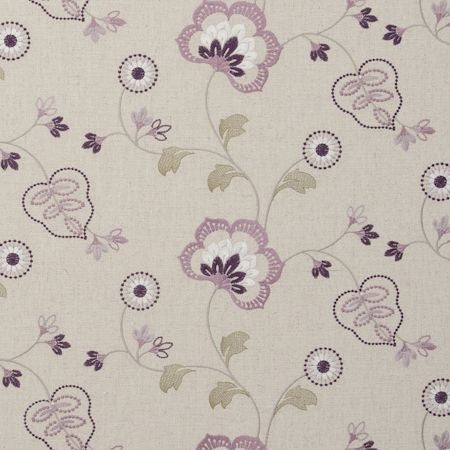 Chatsworth Orchid Curtains