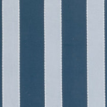 Corduroy Stripe Blue Roman Blinds