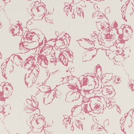 Delphine Raspberry Curtains