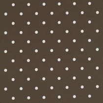 Dotty Chocolate Roman Blinds