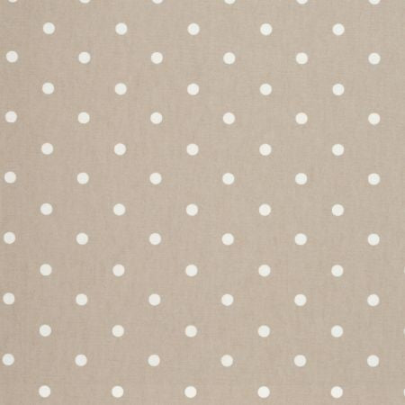 Dotty Taupe Curtains