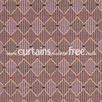 Dumfries Mulberry Fabric by the Metre