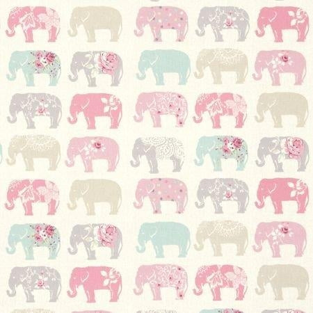 Elephants Pastel Curtains