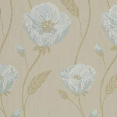 Freesia Azure Curtains