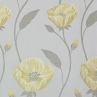 Freesia Yellow Curtains