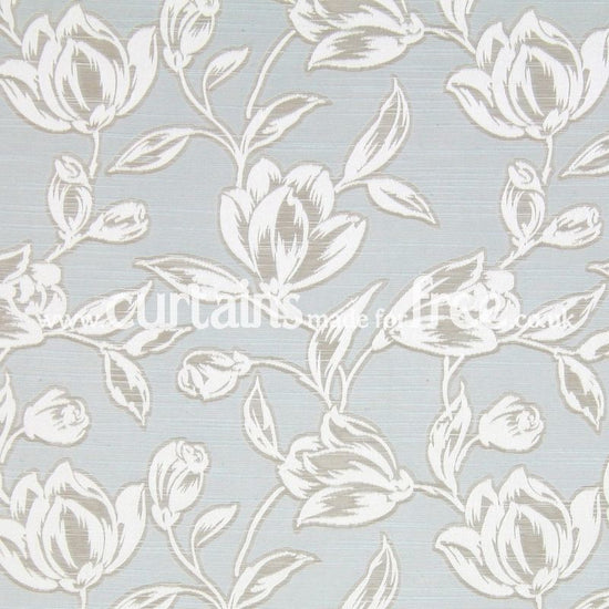 Hepburn Azure Curtains