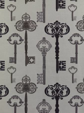 Keys Mulberry Curtains