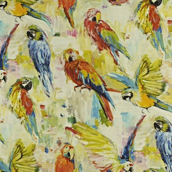 Macaw Tropical Curtains