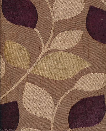 Matisse Aubergine Curtains