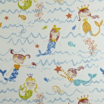 Mermaid Azure Fabric by the Metre