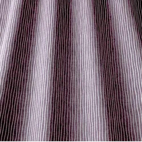 Pinstripe Mulberry Curtains