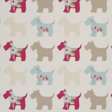 Scotties Taupe Duck Egg Curtains