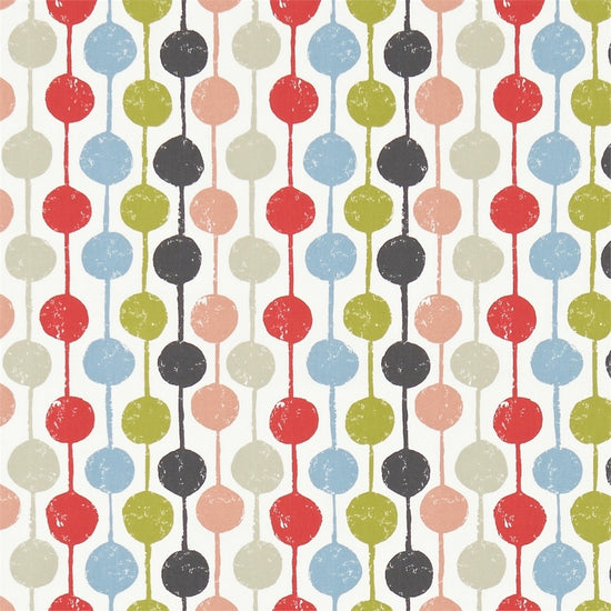 Taimi Kiwi Poppy Charcoal 120364 Curtains
