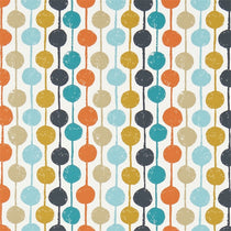 Taimi Sulpher Tangerine Kingfisher 120363 Curtains