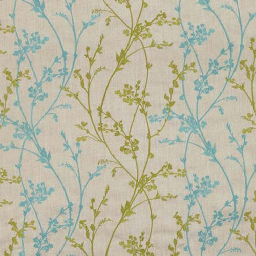 Whisp Embroidery Pistachio Valances