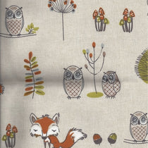 Woodland Fox Multi Roman Blinds