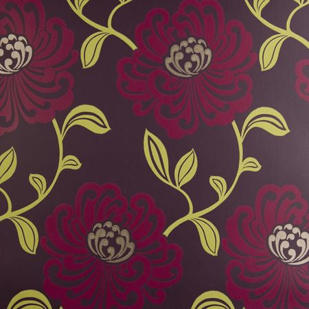Fiori Damson Wallpapers