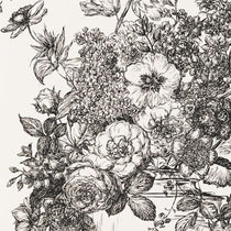 Floribunda Black White Wallpapers
