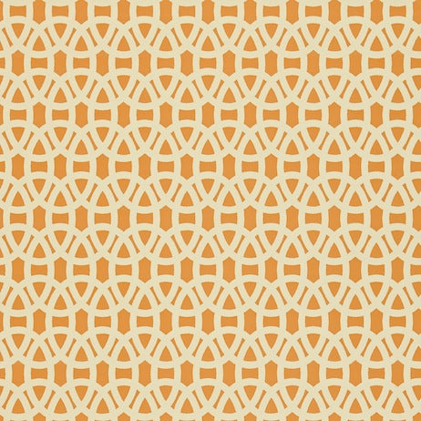 Lace Tangerine and Neutral Wallpapers